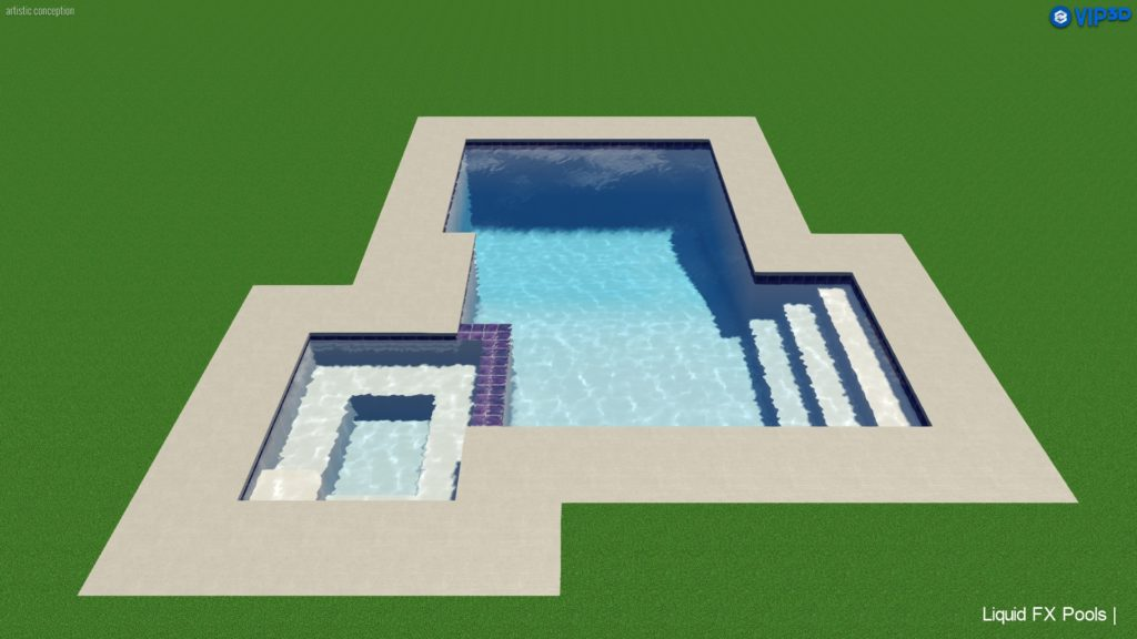 Legacy Collection 1b Liquid FX Pools, California